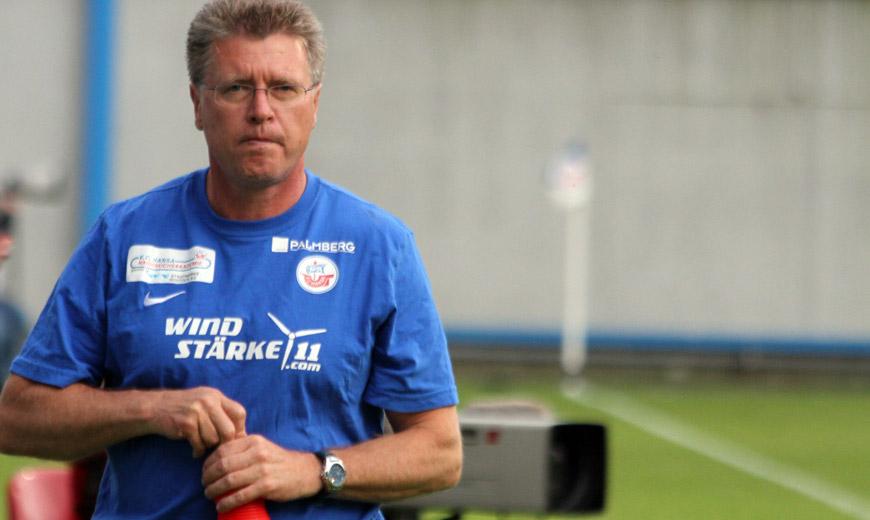 """Hansa-Coach Kroos: """"Versuche Normalität zu verbreiten"""""""
