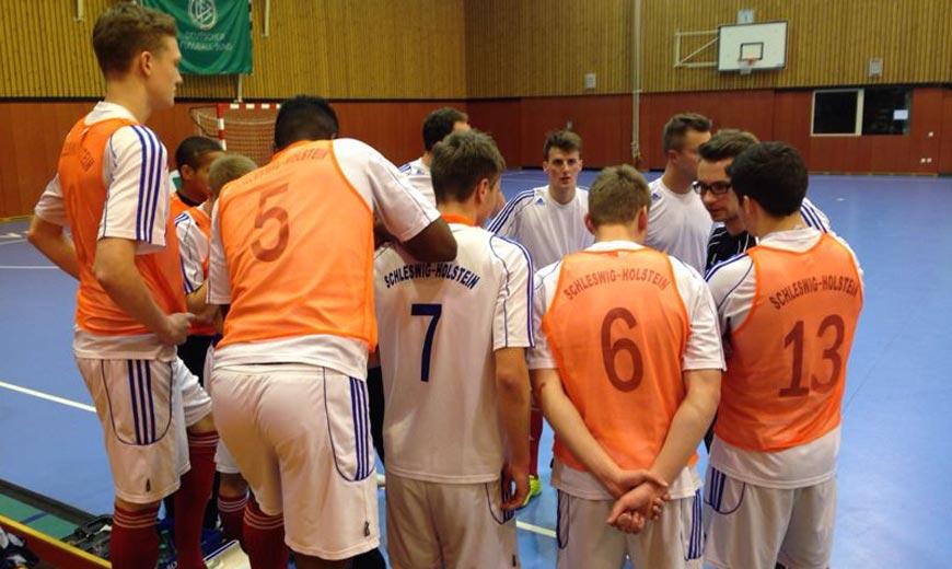 Futsal in Duisburg: HH & SH ziehen auf