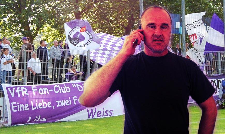 """VfR-Boss Klusemann: """"Die einzige Chance ist die 3. Liga"""""""